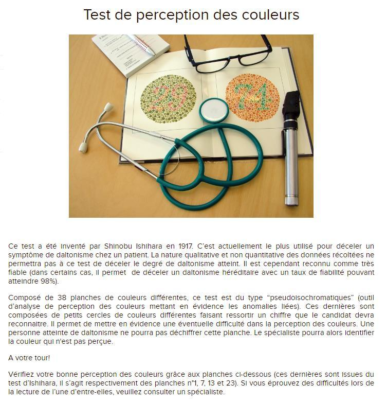 Document 12 : Le test de