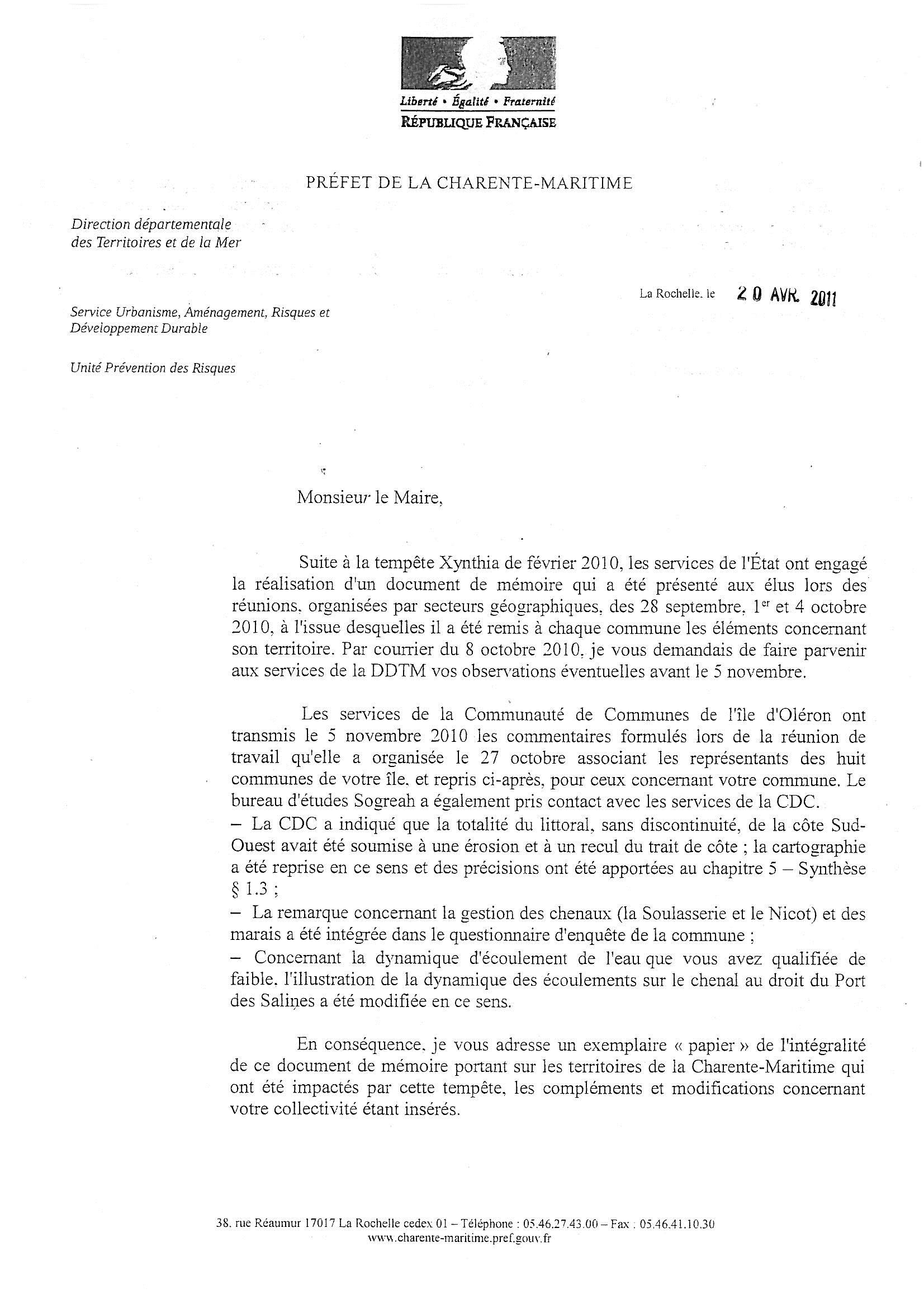 Document modifié par la