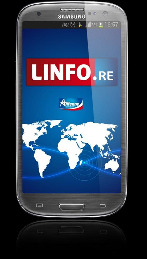 L APPLICATION SMARTPHONE LINFO 30 000 INSTALLATIONS 215 000 VISITES 600 000 PAGES