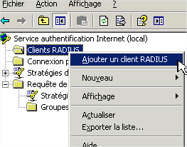 authentification Internet Dans la zone