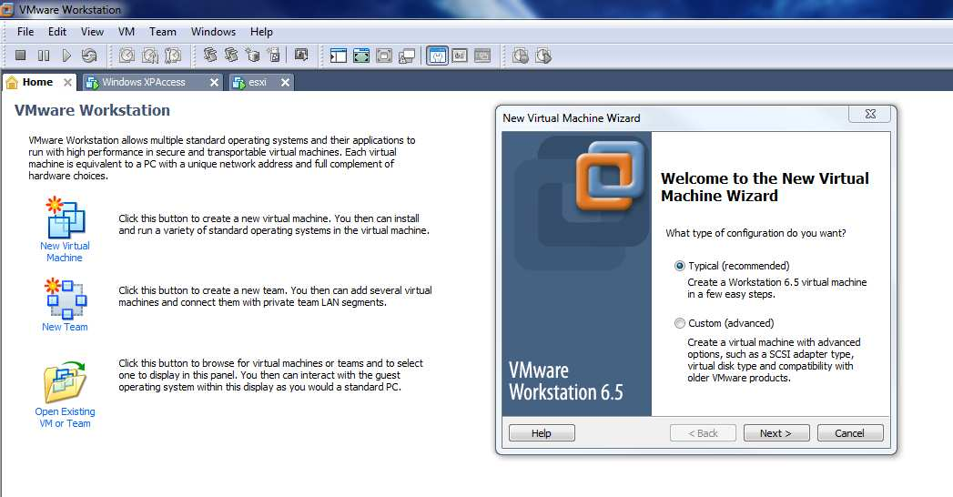 Il est possible de virtualiser un serveur ESXI sur un VMware Workstation