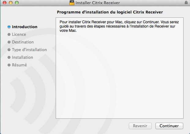 «Download Receiver for Mac».