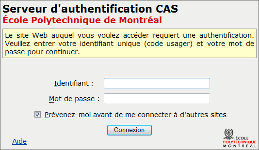 Figure 6 - Recherche 3. Authentification Il y a deux types d authentification.