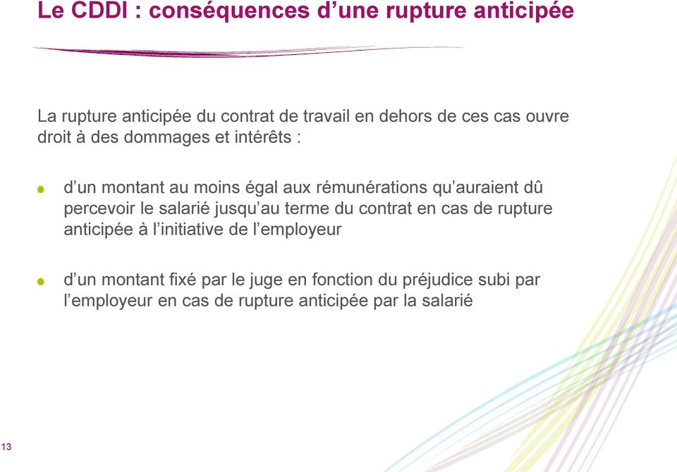 Le Contrat A Duree Determinee D Insertion Cddi Pdf