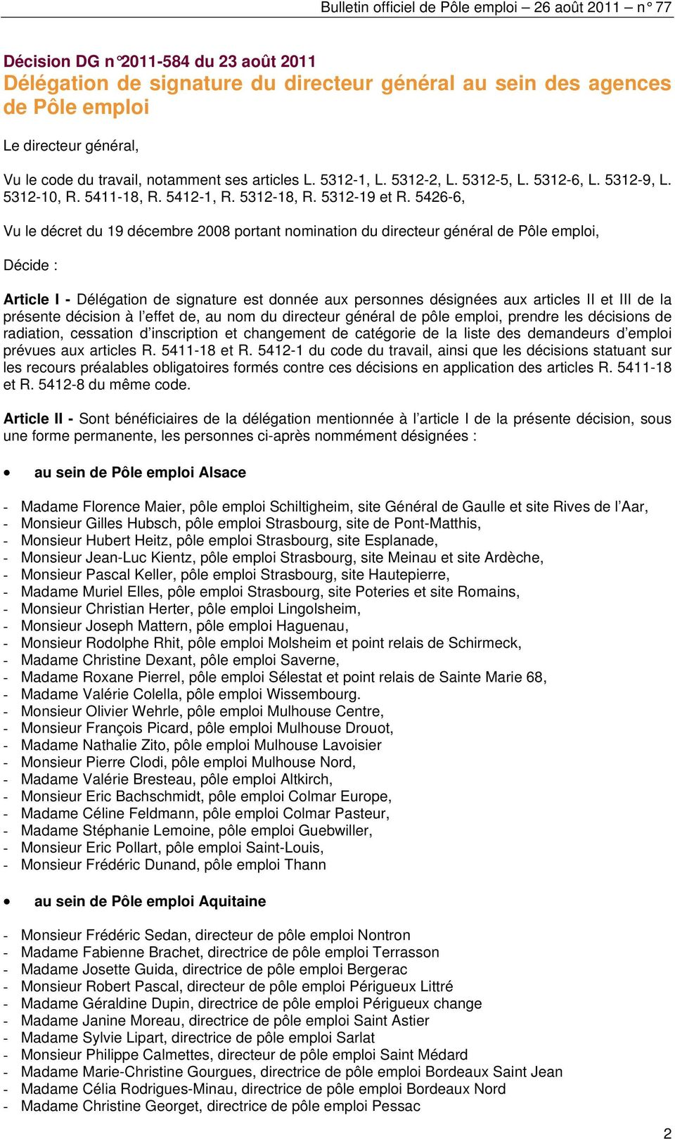 bulletin officiel de pole emploi pdf. Black Bedroom Furniture Sets. Home Design Ideas