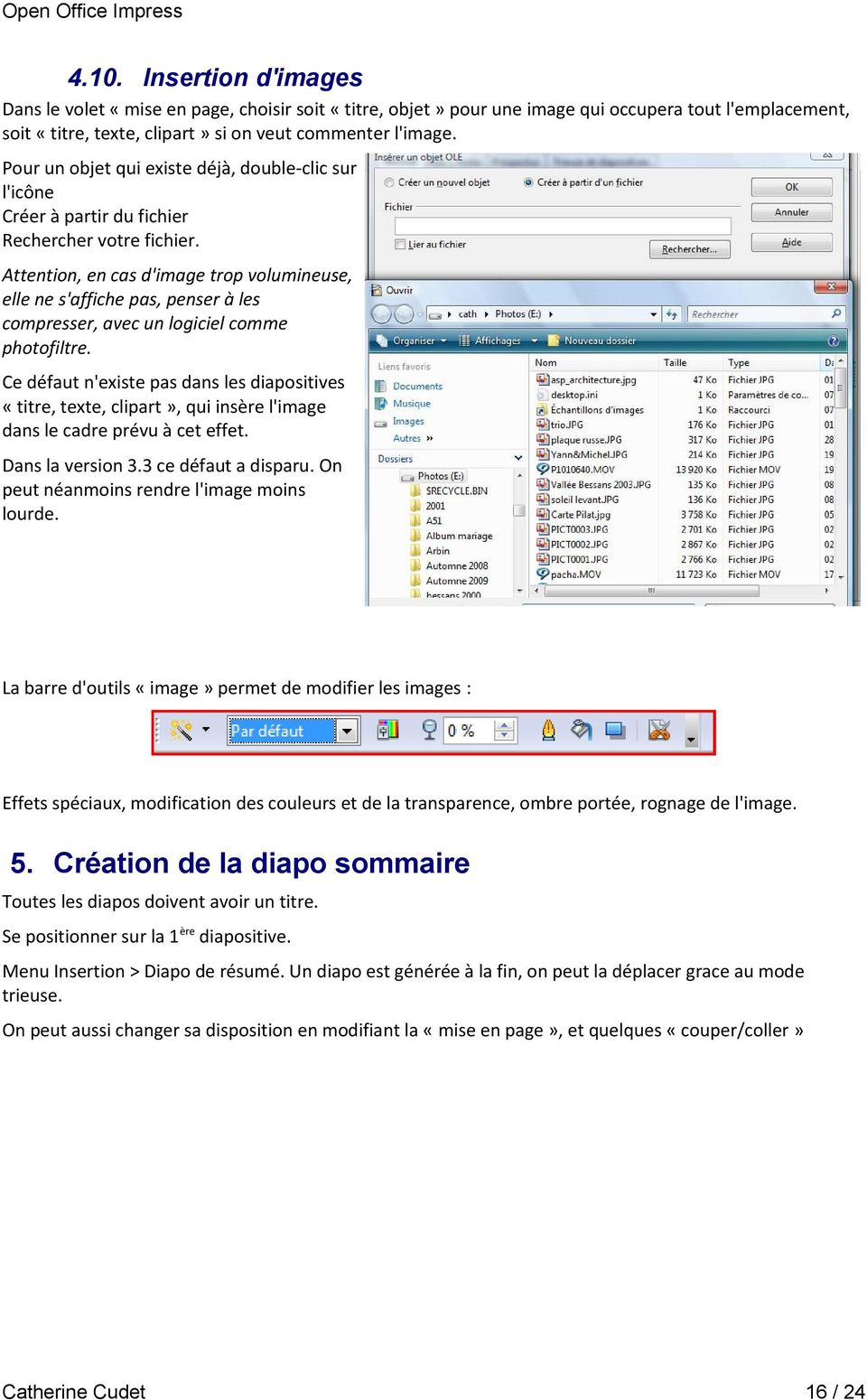 impress  open office ou libre office