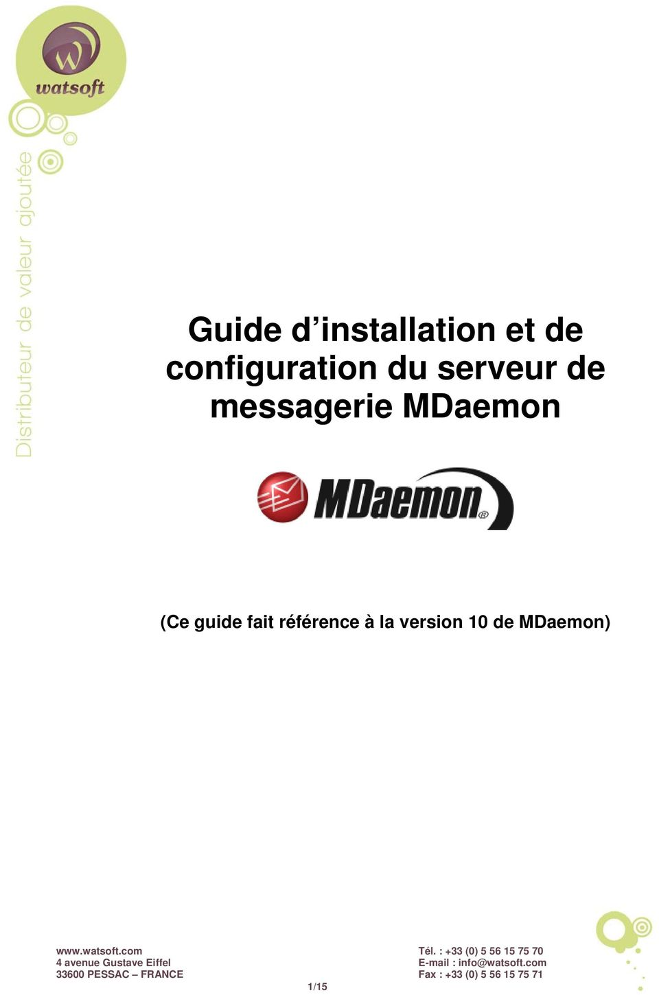 messagerie MDaemon (Ce guide