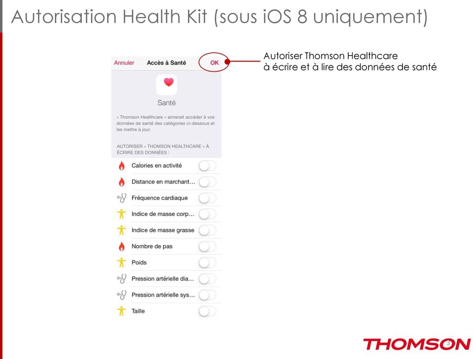 Thomson Healthcare à écrire