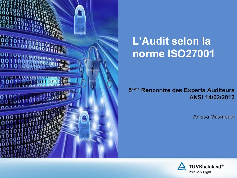 Rencontre des Experts