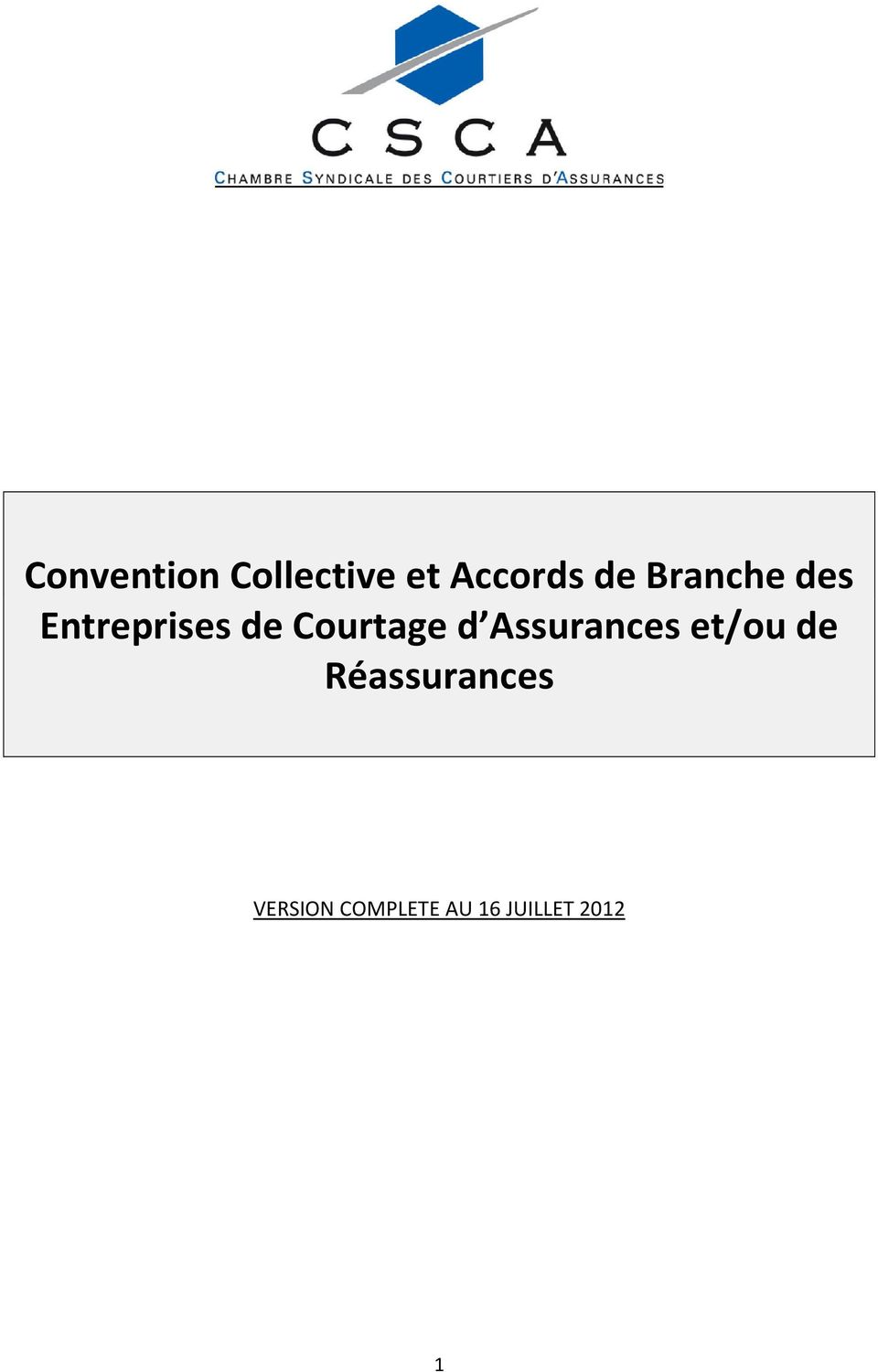 Convention Collective Et Accords De Branche Des Entreprises