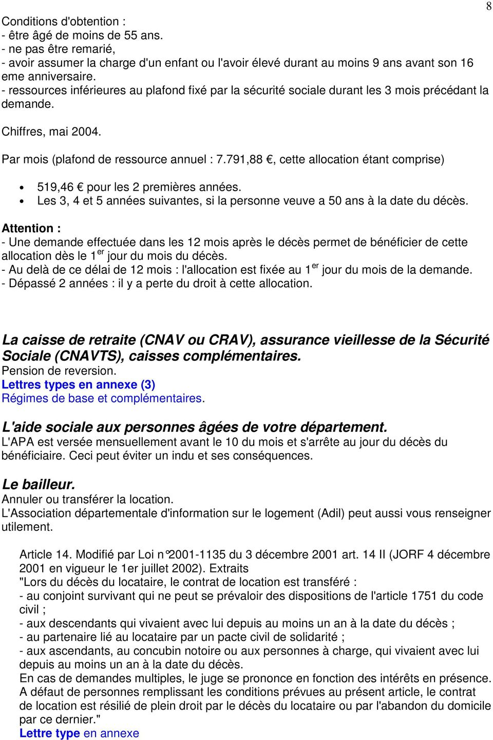 Deces Formalites Administratives Pdf