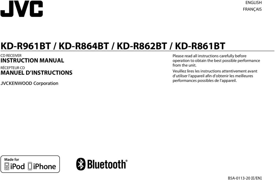 JVC KD-R862BT RECEIVER BLUETOOTH WINDOWS 10 DRIVER DOWNLOAD