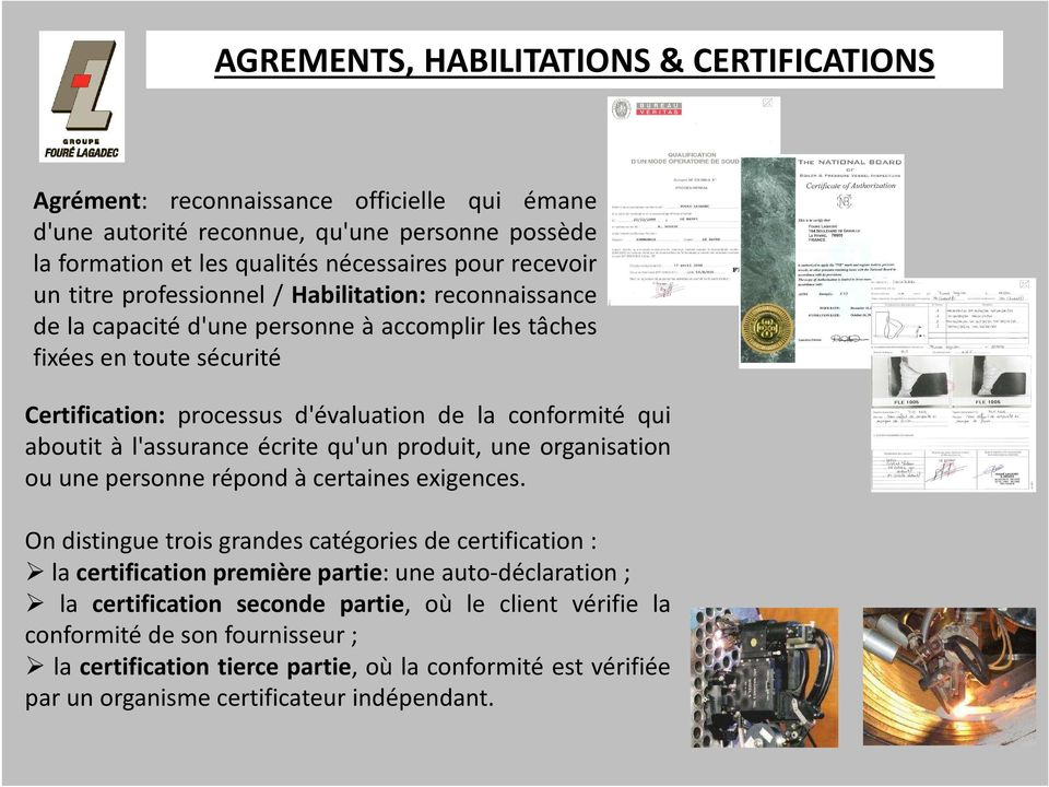 Agrements Habilitations Certifications Pdf