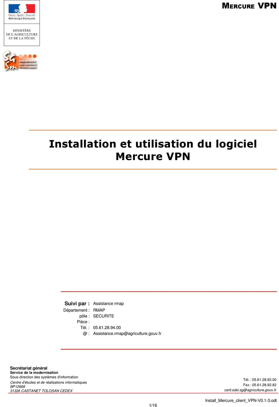 mercure vpn