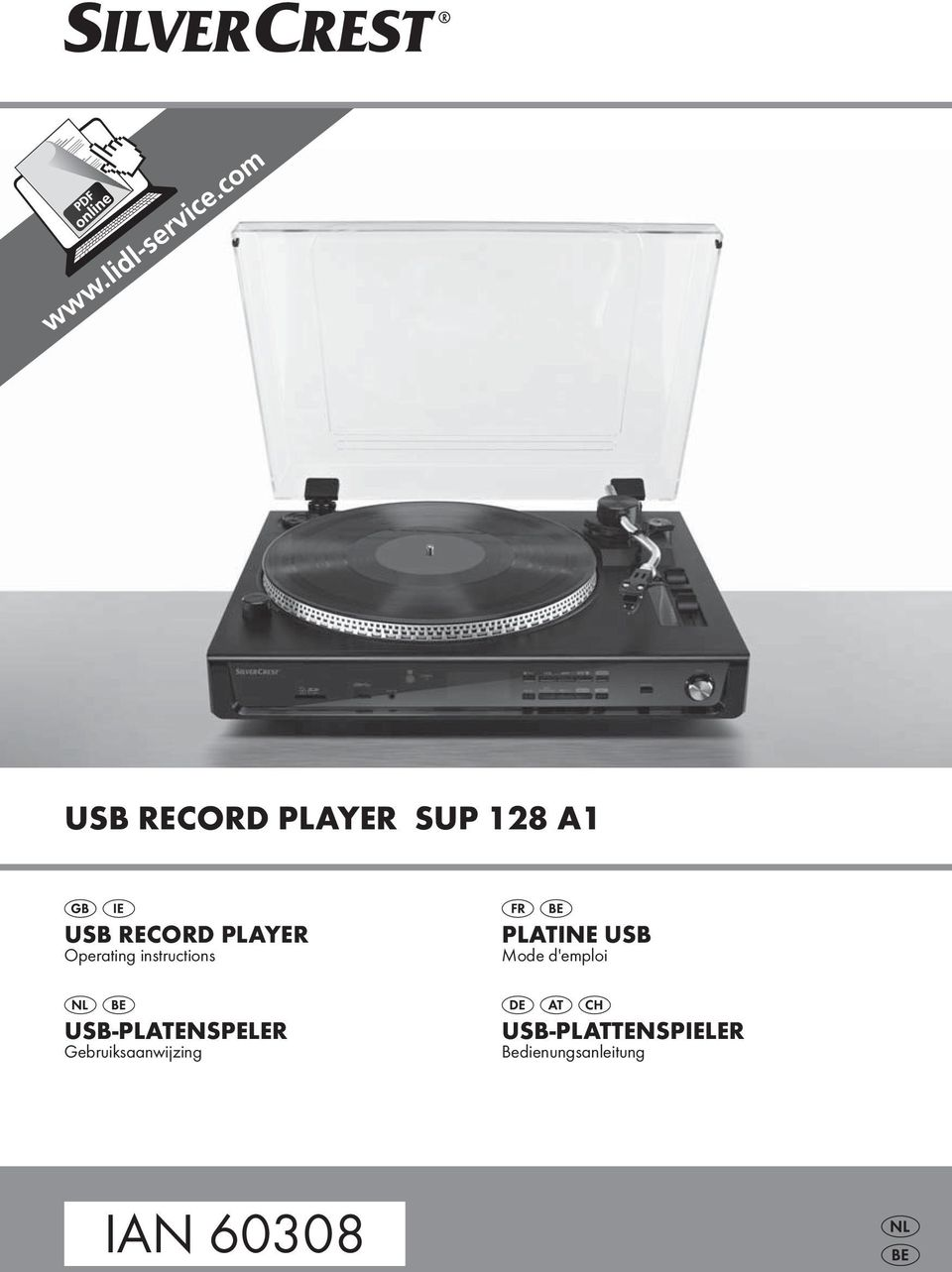 Ian Usb Record Player Sup 128 A1 Usb Record Player Platine