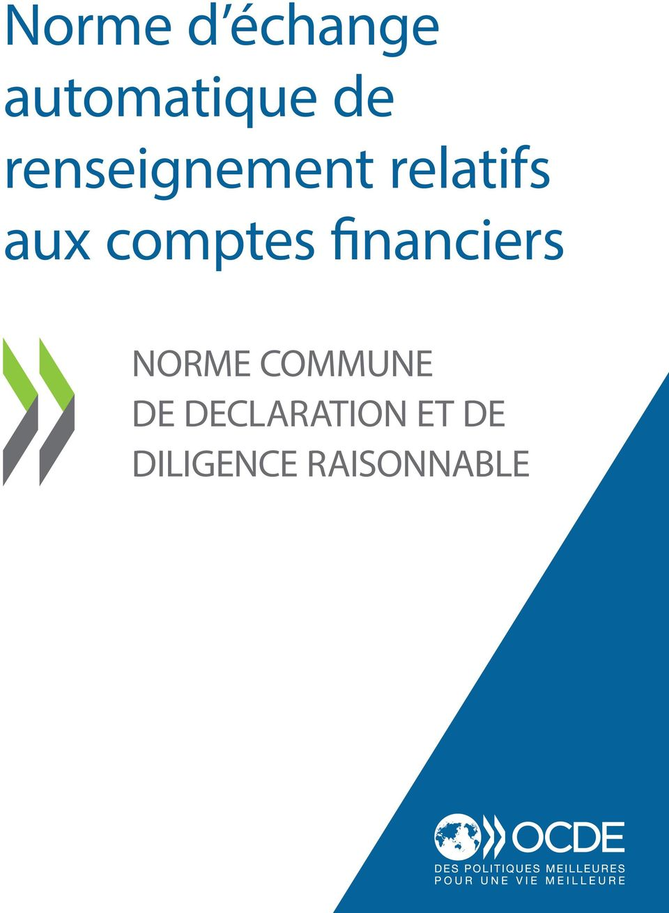 comptes financiers NORME COMMUNE