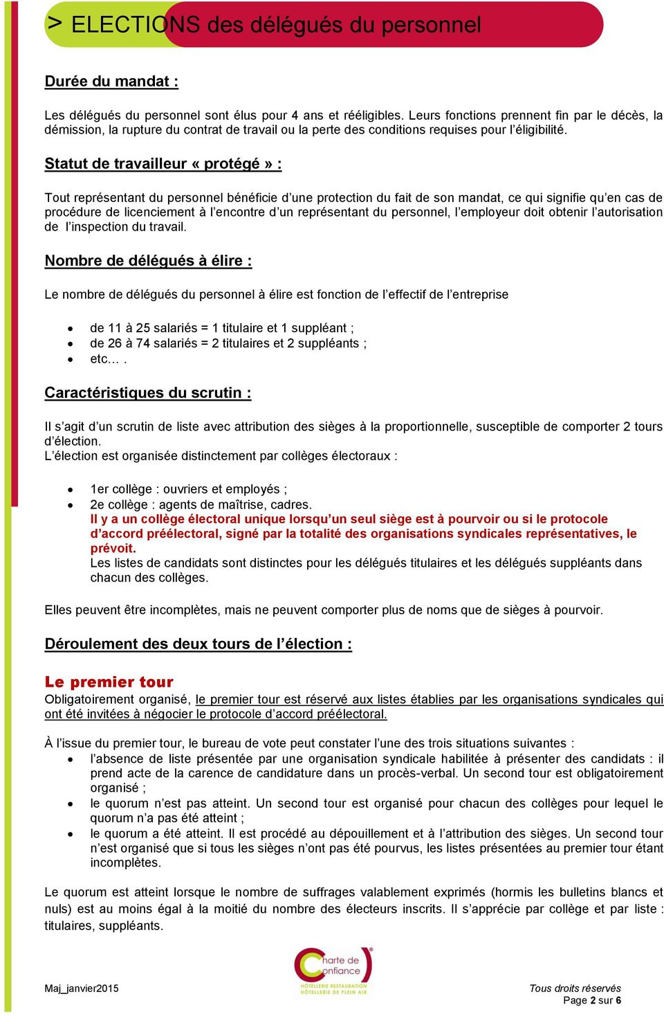 Elections Des Delegues Du Personnel Pdf Free Download