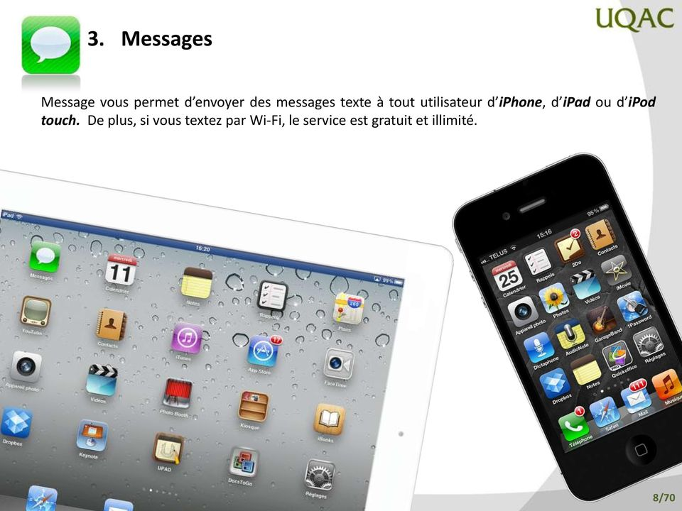 ipad ou d ipod touch.
