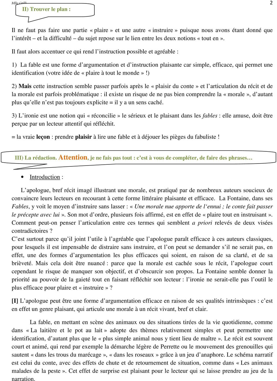l apologue est il une forme argumentative efficace dissertation