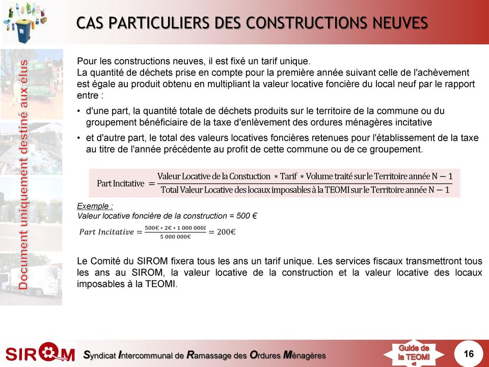 Taxe D Enlevement Des Ordures Menageres Incitative Pdf