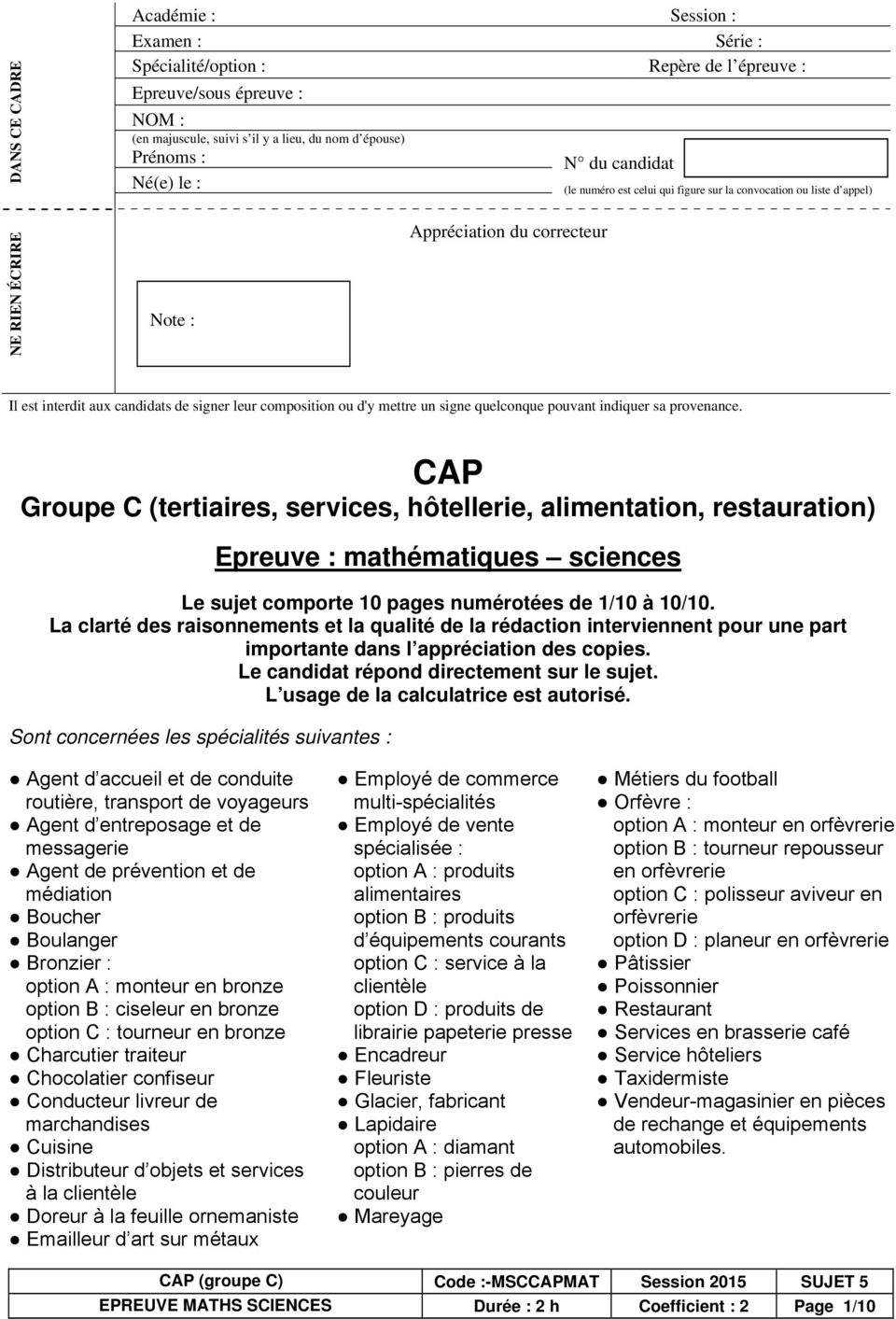 Read Online Mathematiques Cap Tertiaires Corrige Download Free