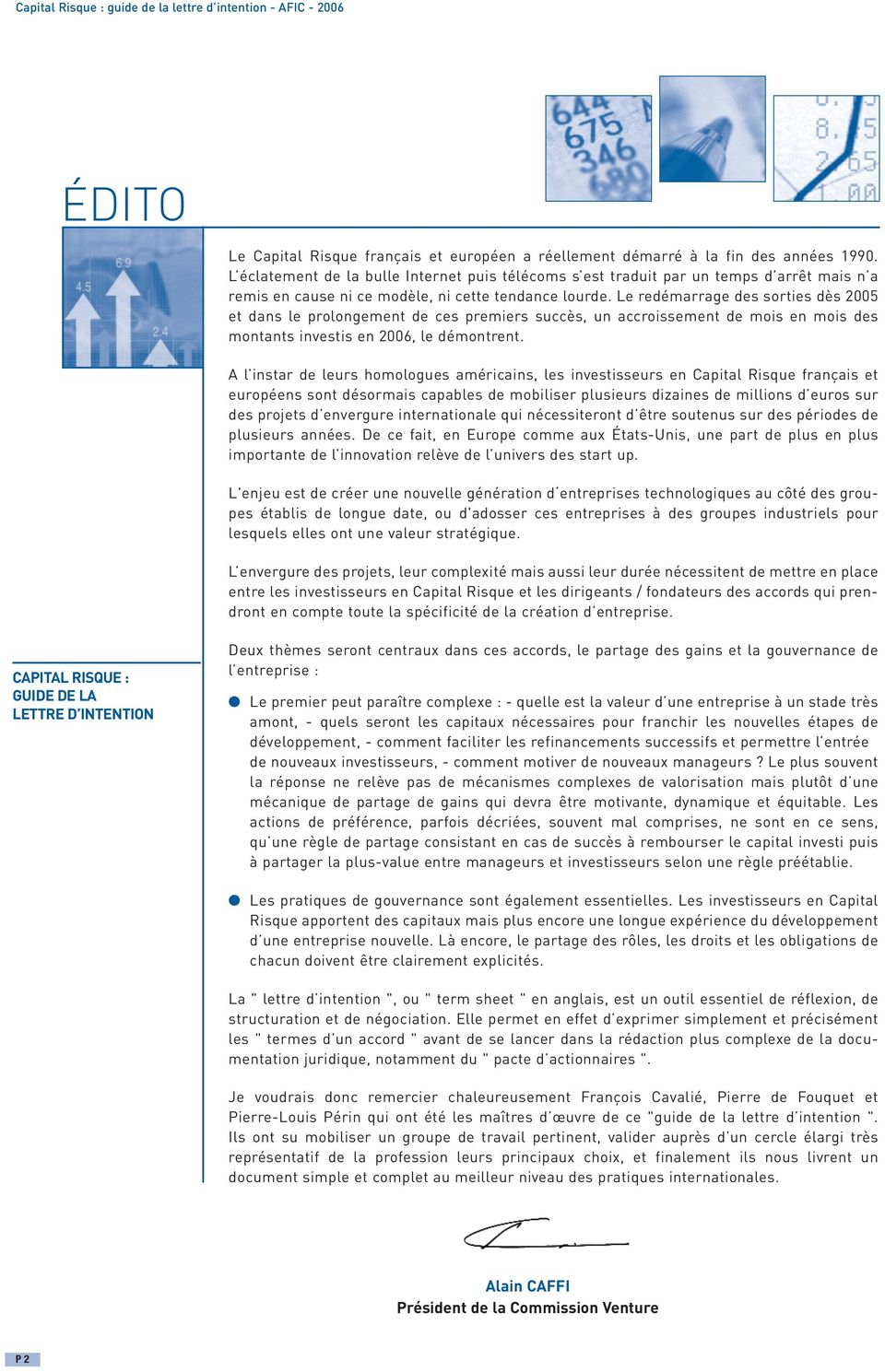 Capital Risque Guide De La Lettre D Intention Pdf