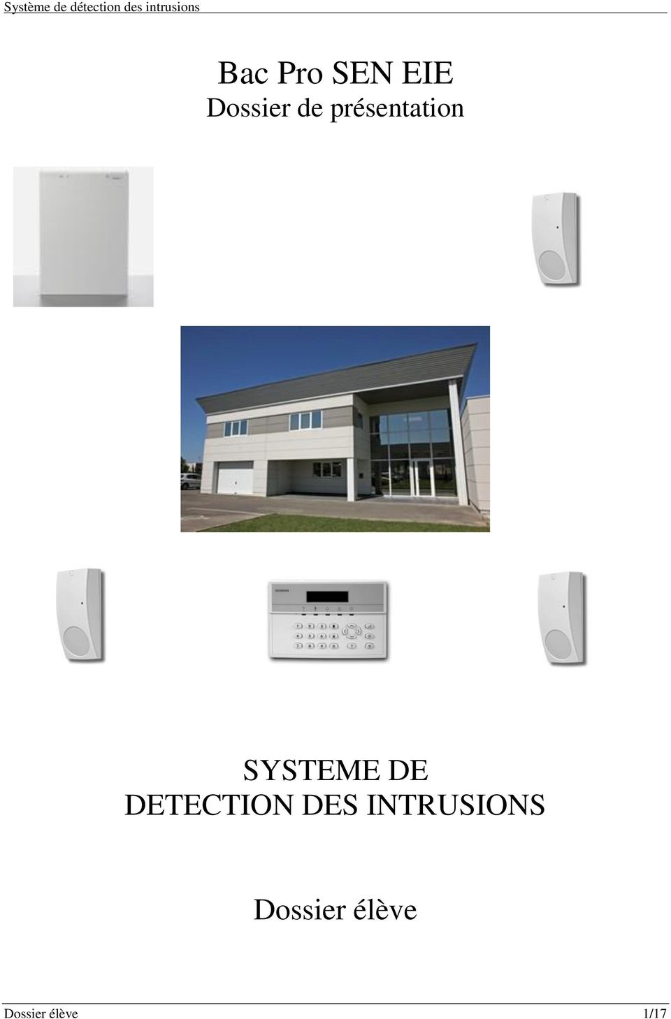 DETECTION DES INTRUSIONS