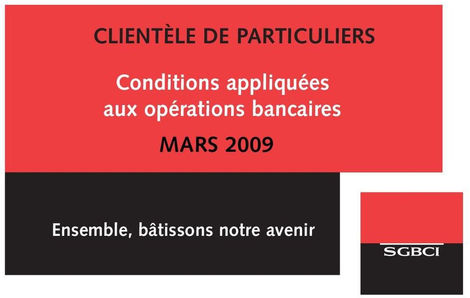 opérations bancaires MARS