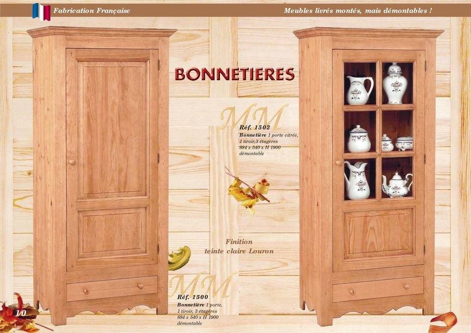 fabrication fran aise meubles livr s mont s mais d montables finition teinte claire louron pdf. Black Bedroom Furniture Sets. Home Design Ideas
