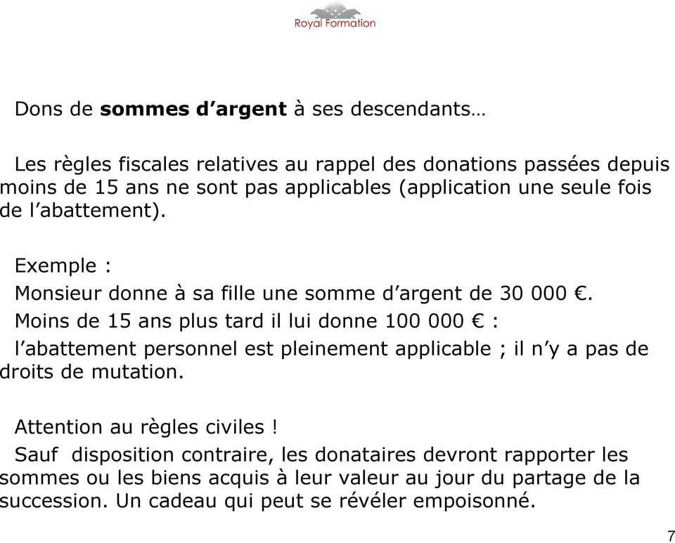 Donations Successions Droits De Mutation A Titre Gratuit Pdf