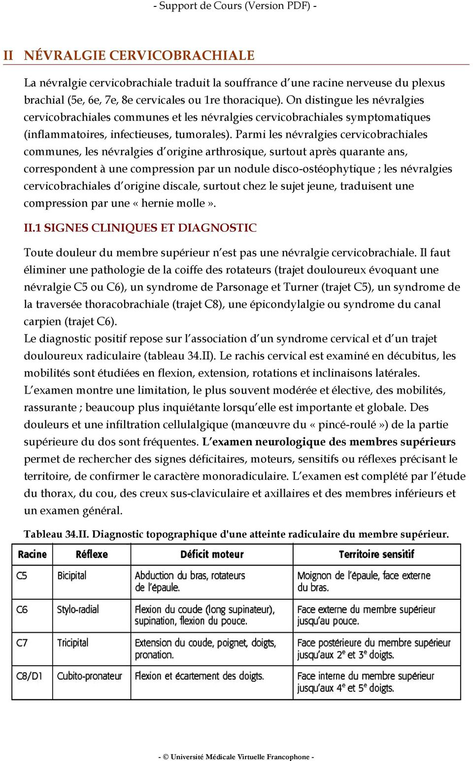 Item 279 : Radiculalgie et syndrome canalaire - PDF