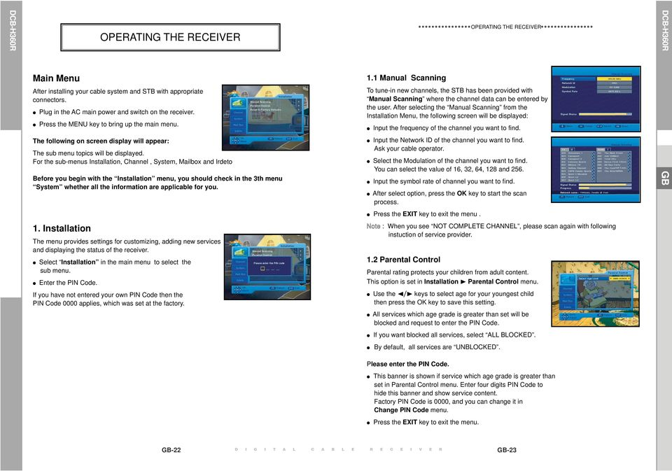 dcb h360r instructions for use mf a rev 1 1 digital cable hd