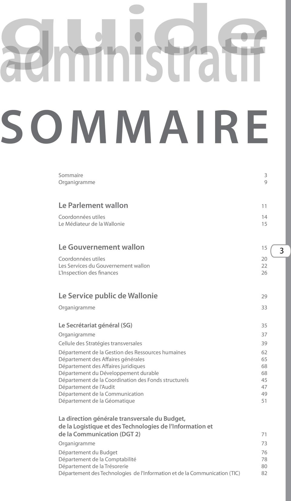 Administratif Info Guides Service Public De Wallonie Communication Pdf Free Download