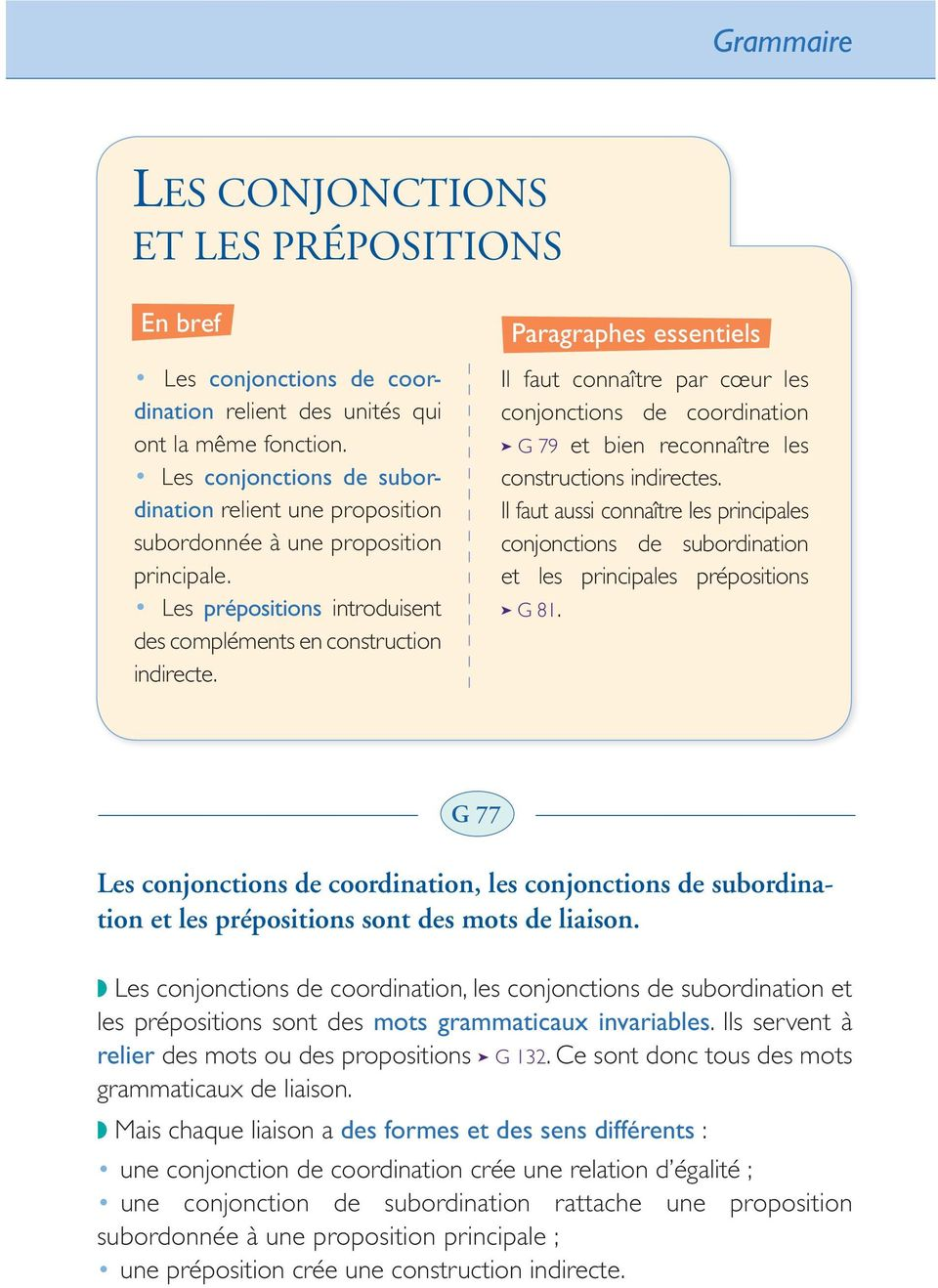 Conjonction de subordination relative dating