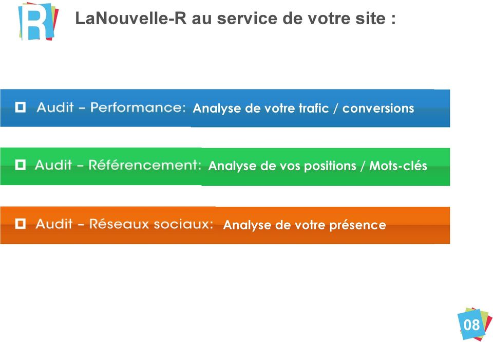 conversions Analyse de vos