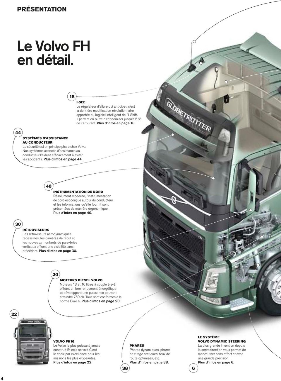 volvo trucks driving progress s rie volvo fh guide produit volvo rh docplayer fr