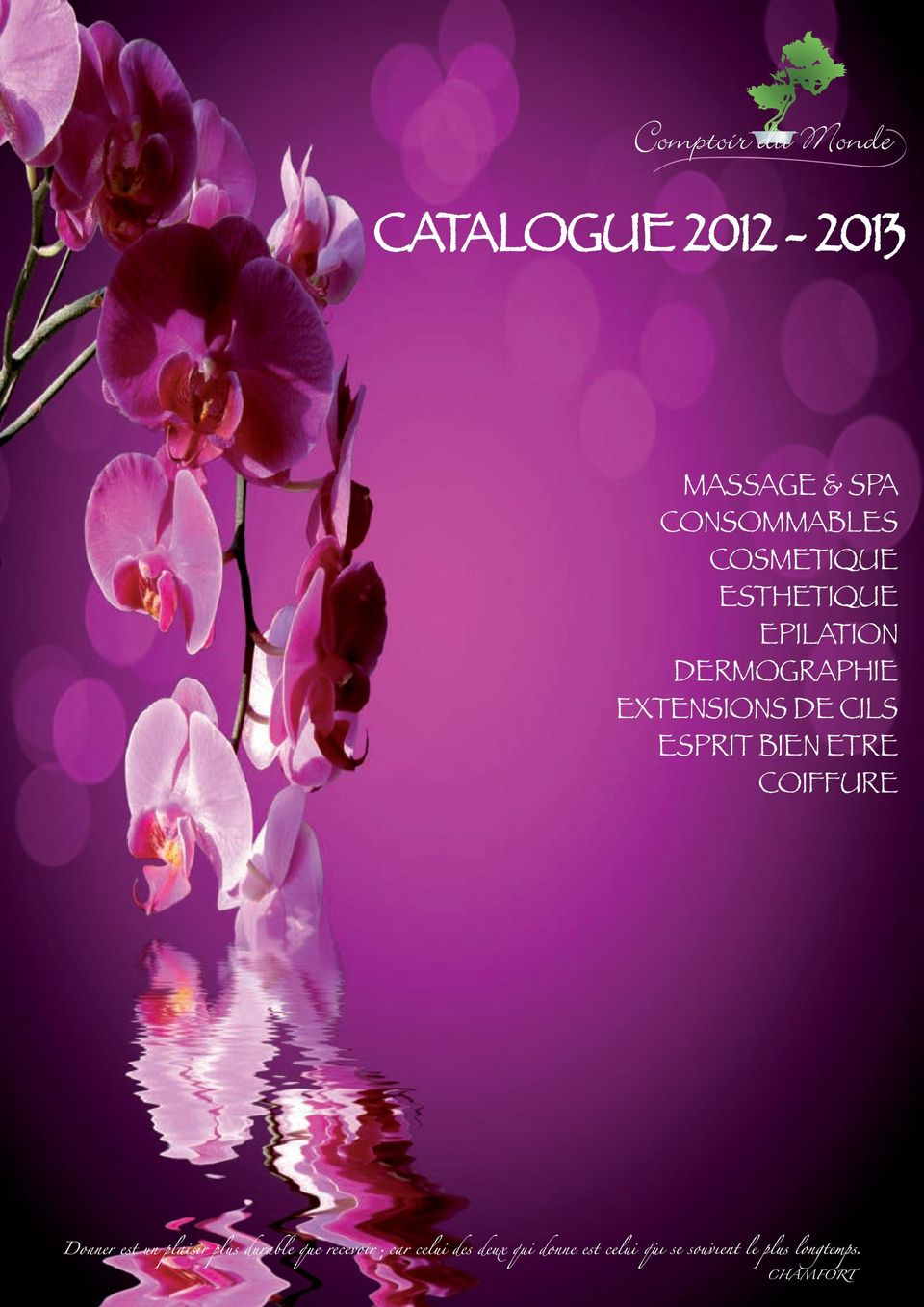 CATALOGUE MASSAGE   SPA CONSOMMABLES COSMETIQUE ESTHETIQUE EPILATION ... 257b85a1bc03