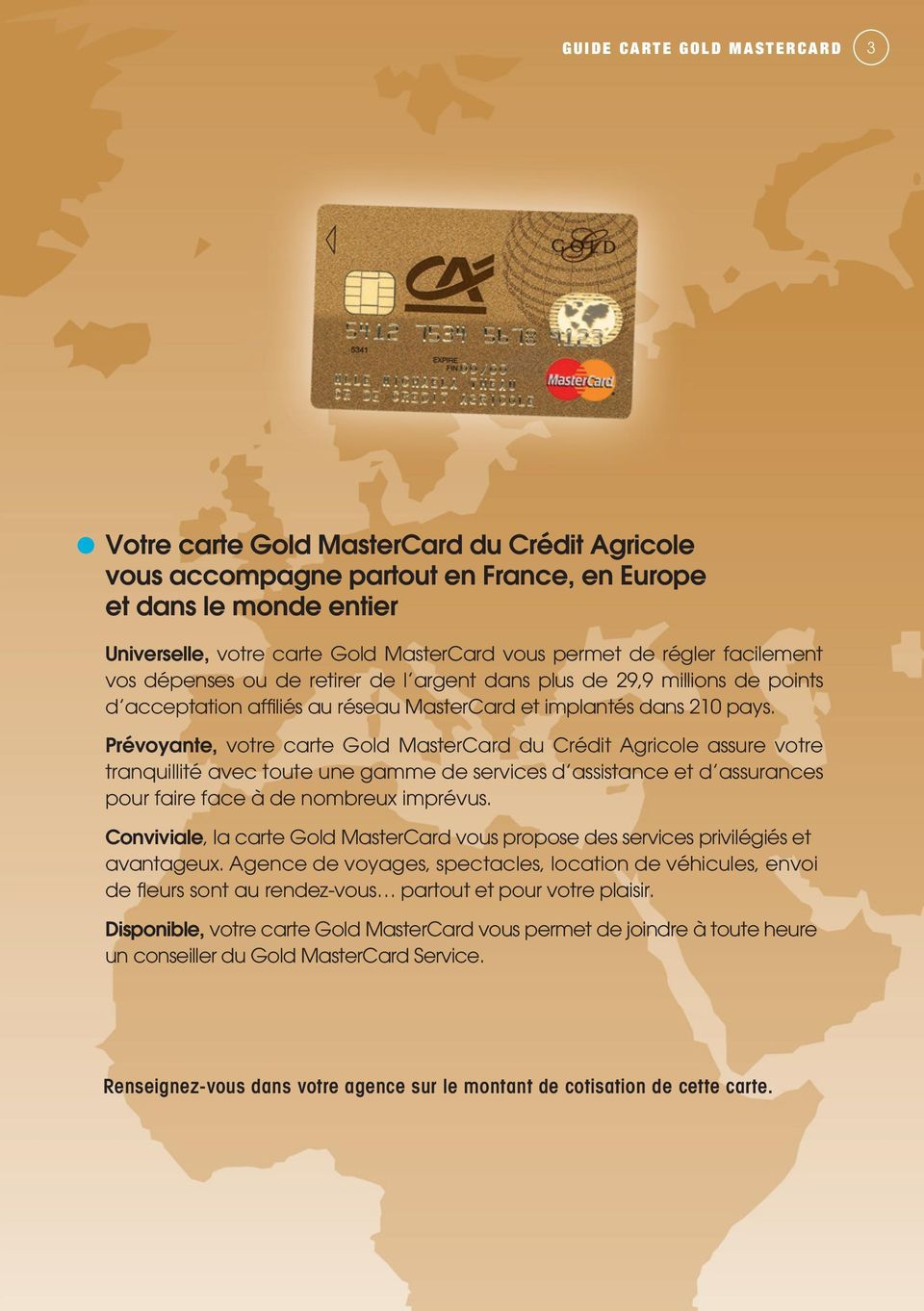 Quotidien Gold Mastercard Pdf Free Download