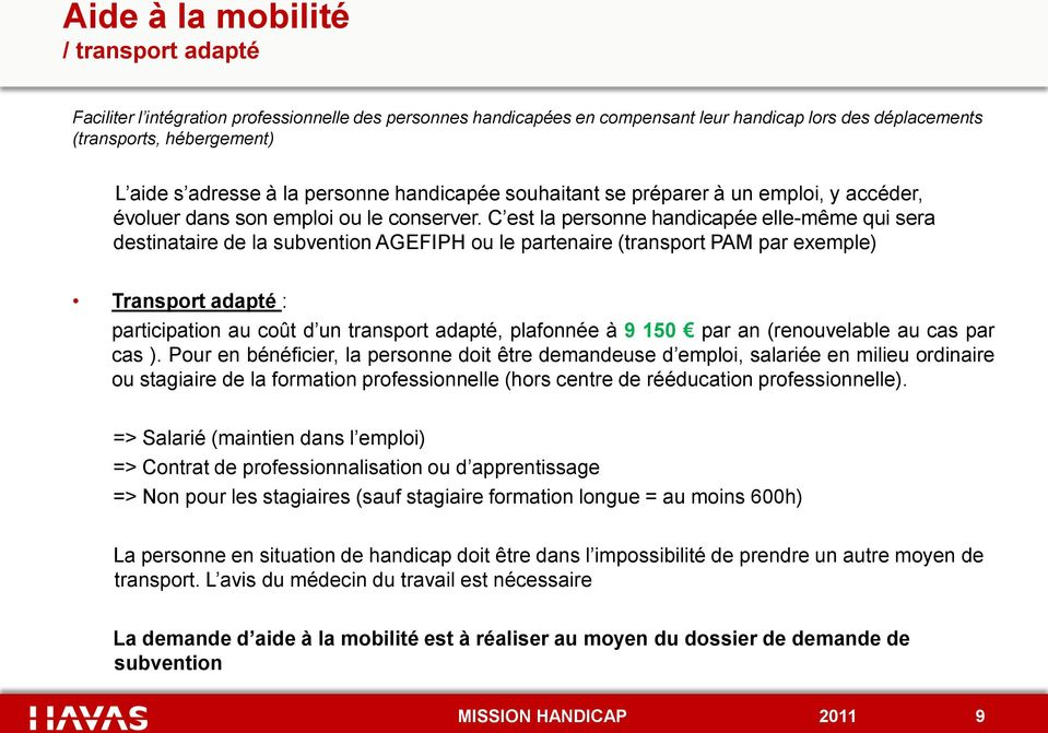 Synthese Des Aides Agefiph Pdf