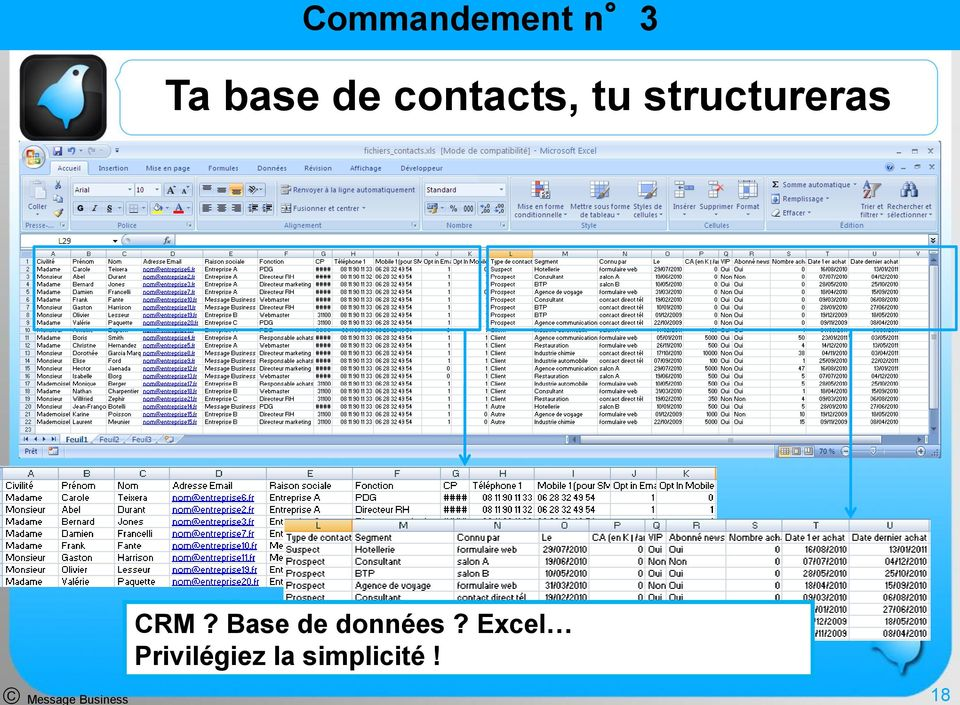 Message Business CRM?