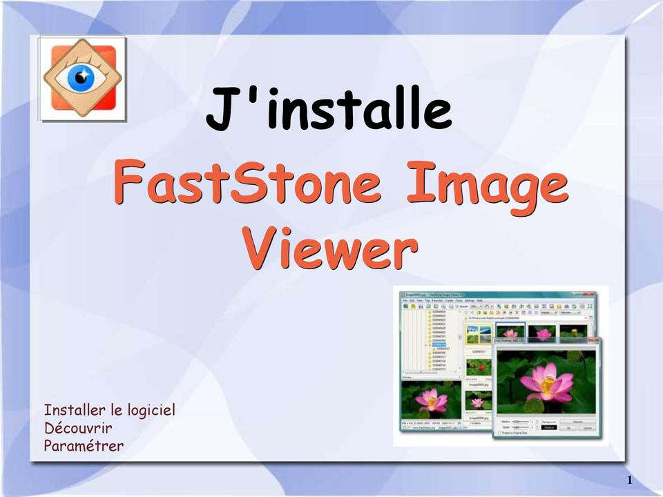 Viewer Installer le