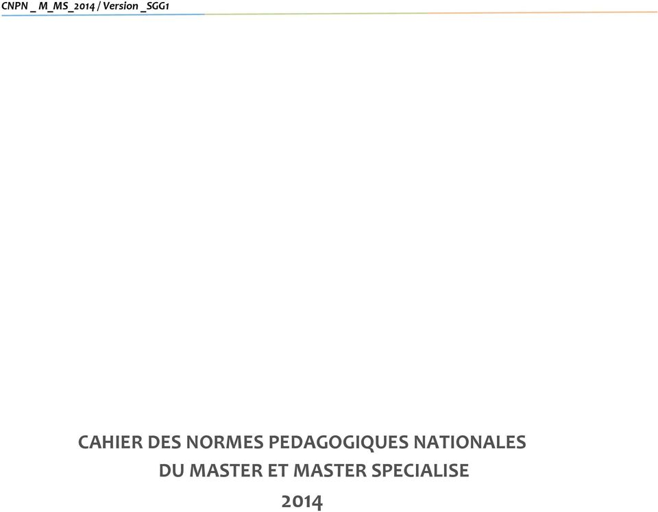 NATIONALES DU