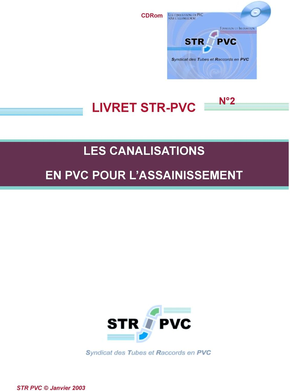 str pvc assainissement