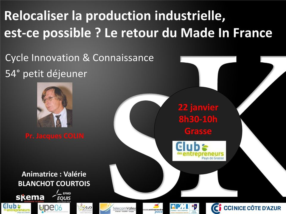 Le retour du Made In France Cycle Innovation &