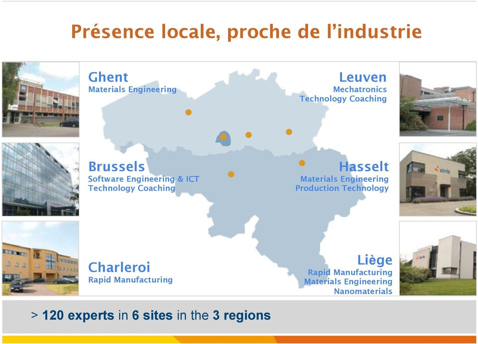 Production Technology Charleroi Rapid Manufacturing Liège Rapid Manufacturing Materials Engineering