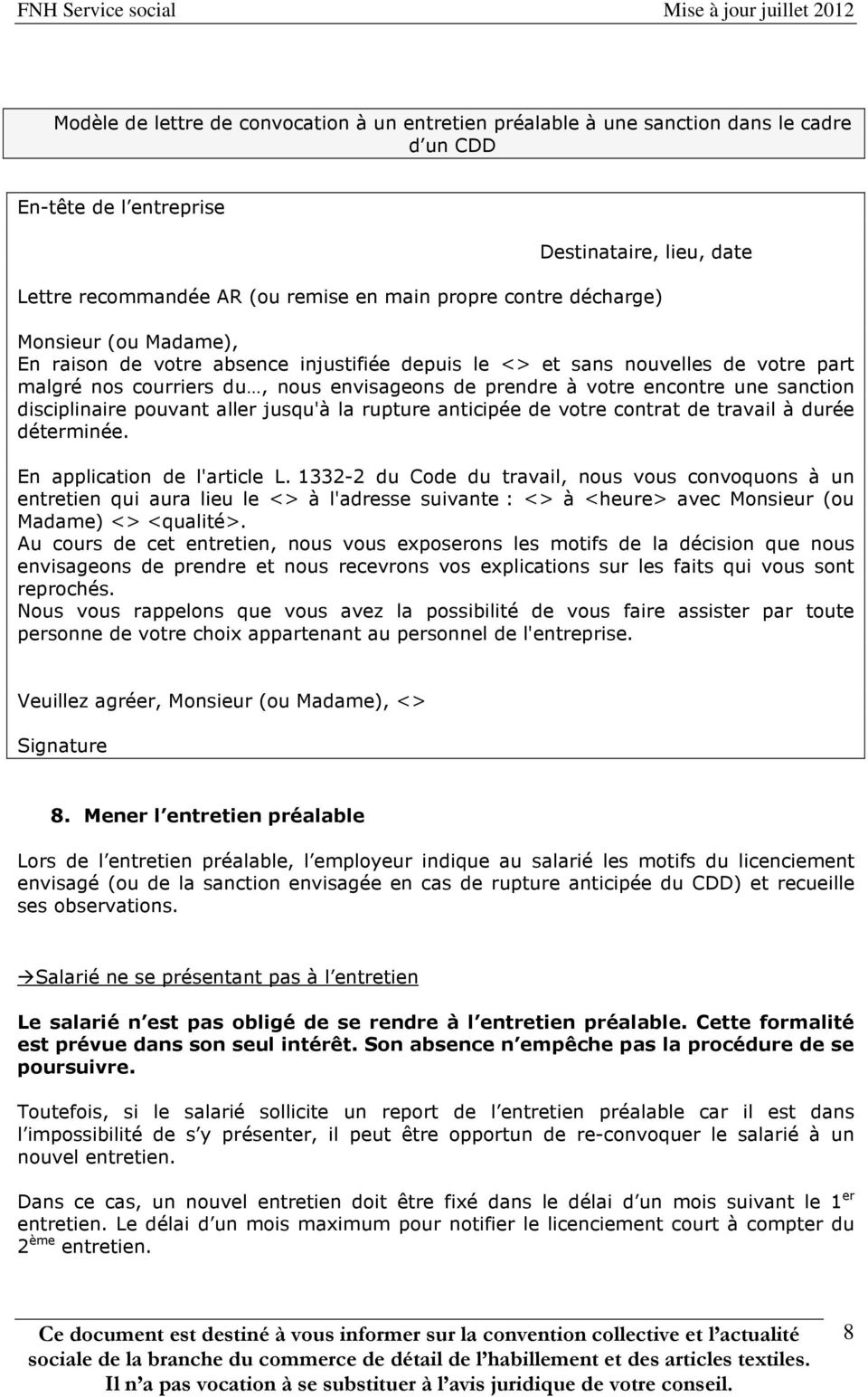 Comment Reagir Face A Une Absence Injustifiee Du Salarie Pdf Free Download