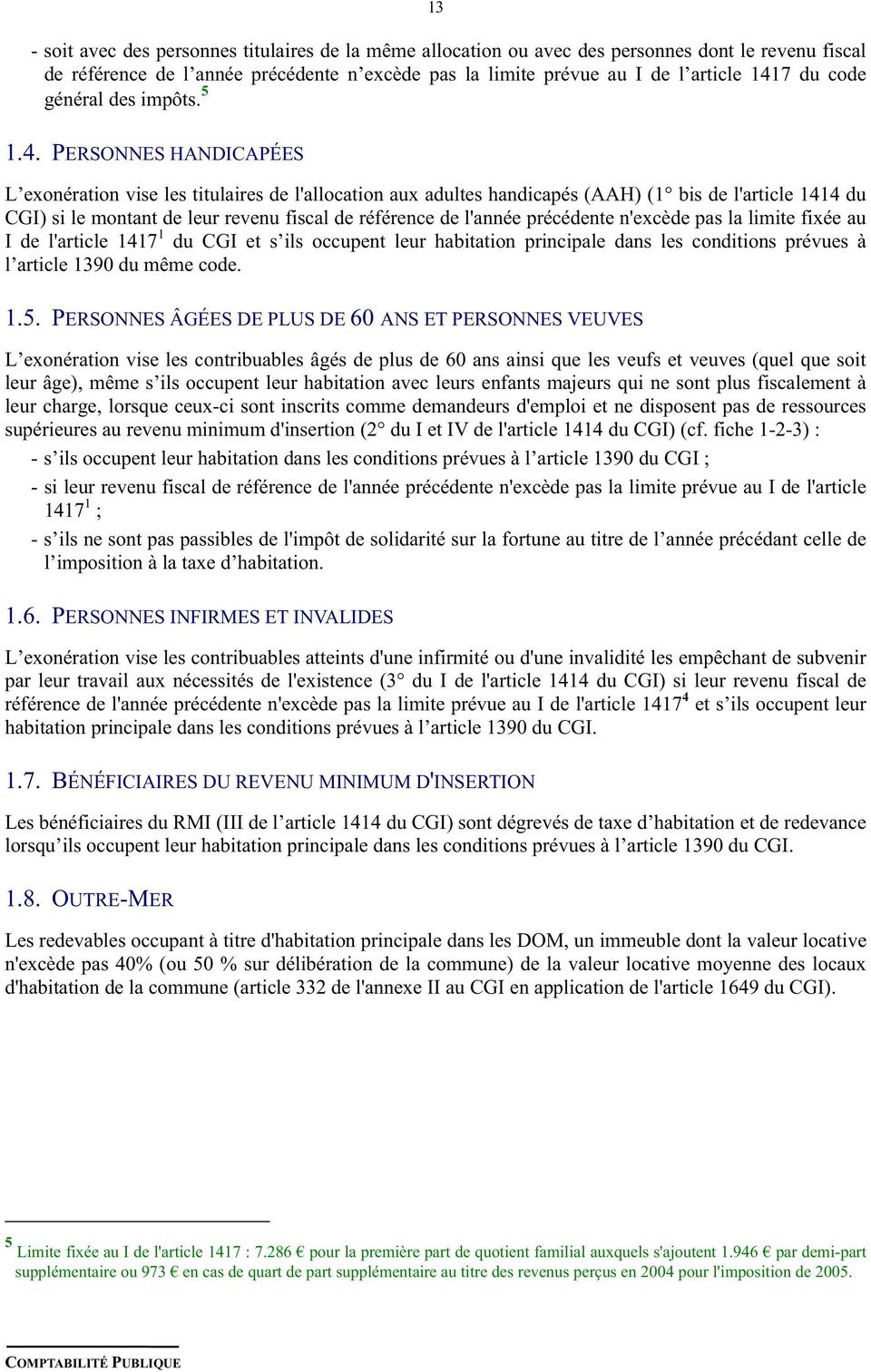 Instruction Codificatrice Pdf