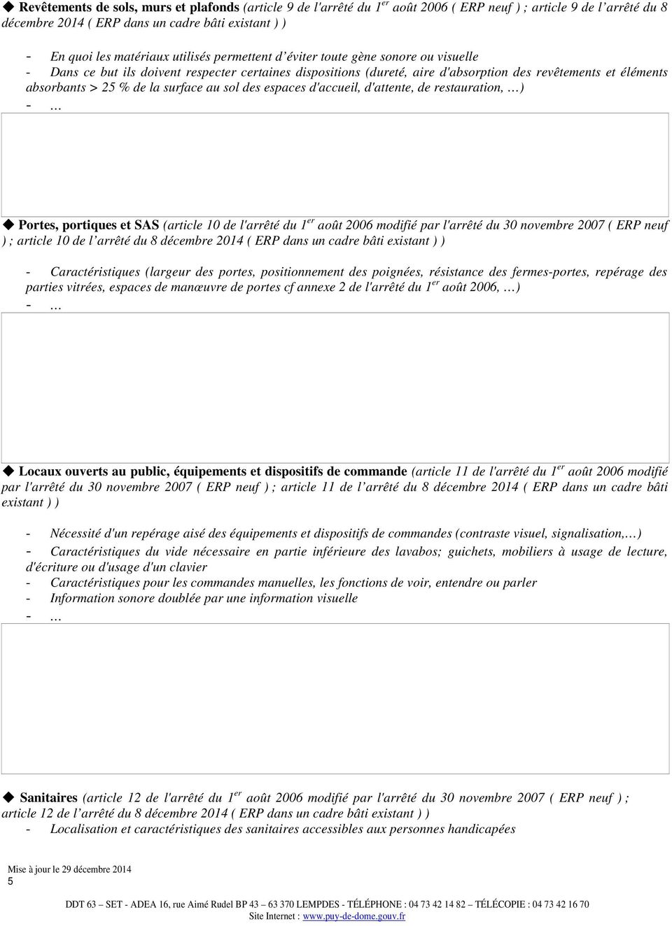 Notice D Accessibilite Pdf Telechargement Gratuit