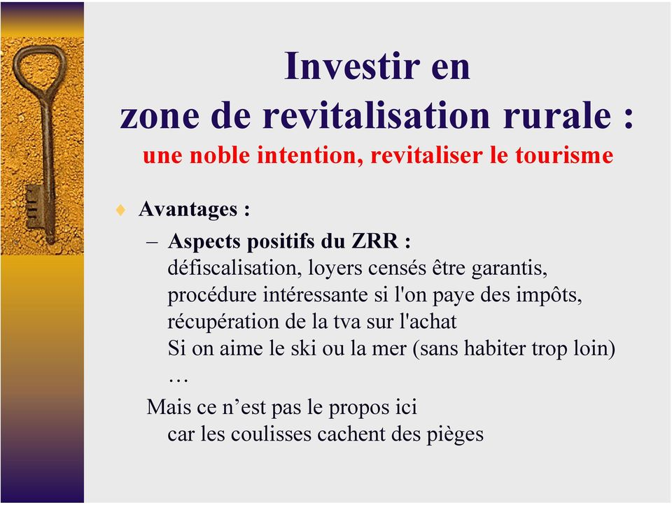 investissement immobilier zrr