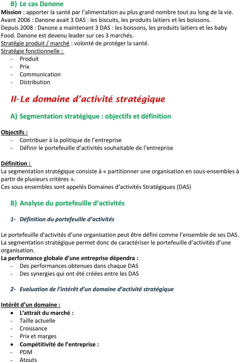 Chapitre 1 La Strategie Marketing Pdf